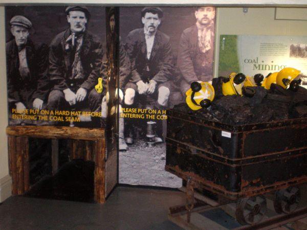 Replica Coalmine at Bailiffgate Museum