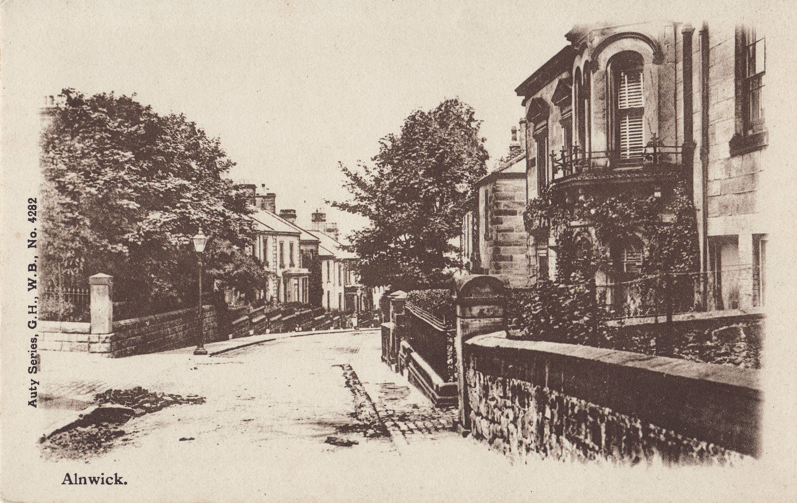 Postcard of Percy Terrace